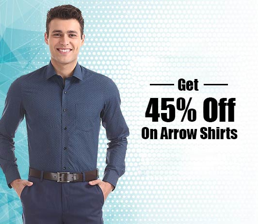How To Get 45% Off On Arrow Shirts
