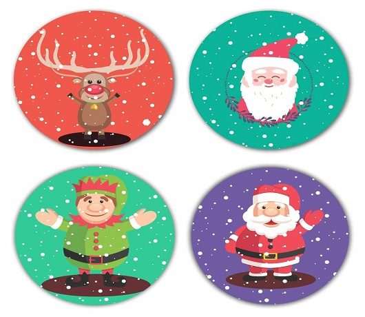 Christmas Coasters for Adorning Dining Tables