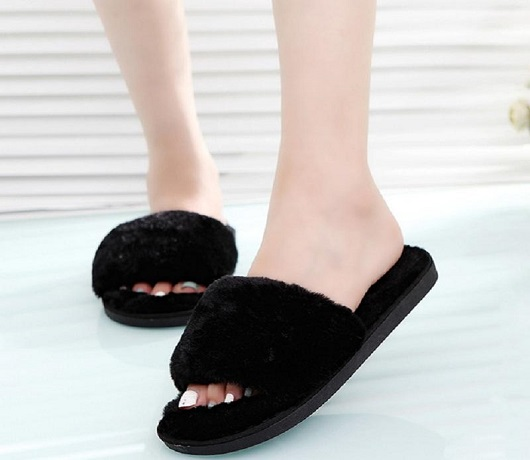 Furry Slippers For A Cosy Surprise