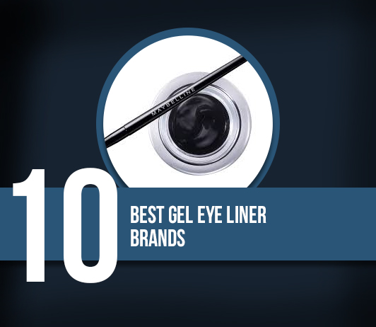 10 Best Gel Eye Liner Brands - Complete Guide With Price Range