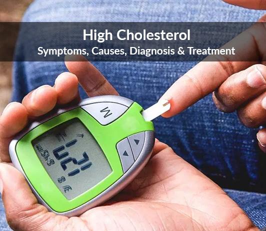High Cholesterol (Hypercholesterolemia): Symptoms, Causes, Diagnosis & Treatment