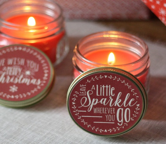 Scented Christmas Candles For Sweet Fragrances