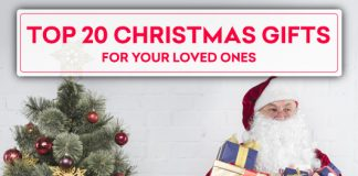 Top 20 Christmas Gift Ideas For Your Loved Ones
