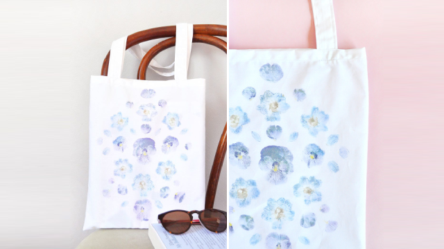 Flower Totes For A Fragrant Festival