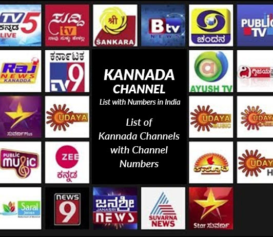 Kannada TV Channel List 2019: All Kannada Channel Numbers in India