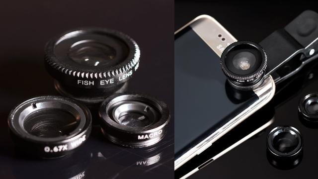 Smartphone Lens Set for Shutterbug Girlfriend