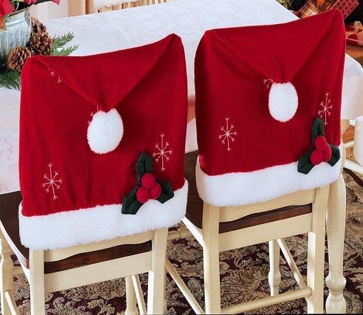 Santa Chair Hats For A Festive Spirit