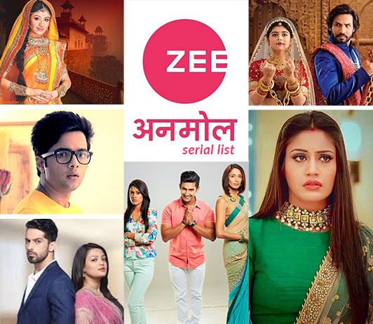 Zee Anmol Serials List 2019: Zee Anmol Serials Timings & Schedule Today