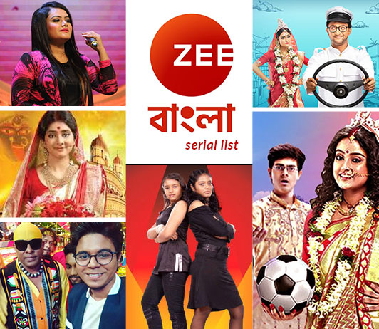 Zee Bangla Serials List 2019: Zee Bangla Serials Timings & Schedule Today