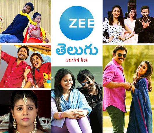 Zee Telugu Serials List 2019: Zee Telugu Serials Timings & Schedule Today