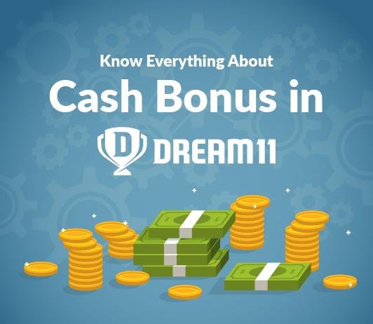 cash bonus dream11