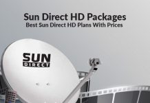 Sun Direct HD Packages: Best Sun Direct HD Plans & Sun Direct HD Prices