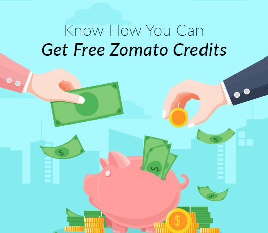 zomato credits