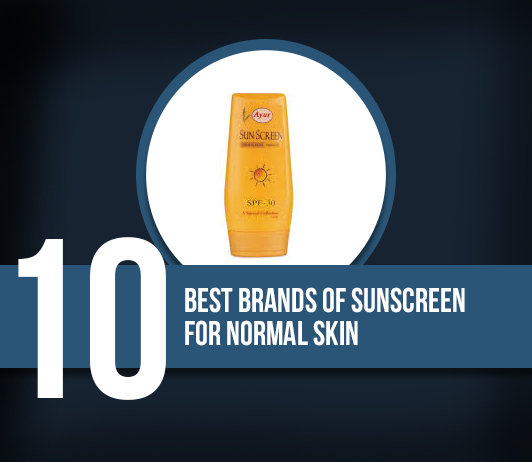 10 Best Brands Of Sunscreen Lotion For Normal Skin- Complete Guide With Price Ranges