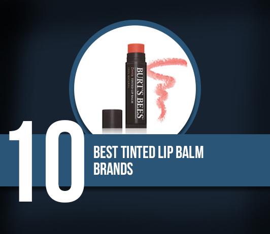 Best Tinted Lip Balm Brands