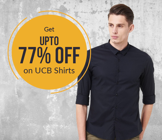 Get Up To 77% Off On UCB Shirts