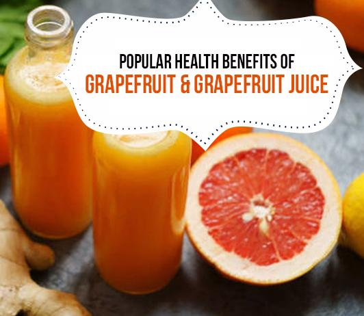 10 Popular Health Benefits of Grapefruit & Grapefruit Juice - Calories & Nutrition Included