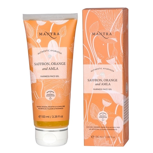Mantra Herbal Saffron, Orange, Amla Fairness Face Gel