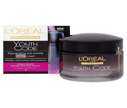 Loreal Paris Dermo-Expertise Youth Code Rejuvenating Anti-Wrinkle Night Cream