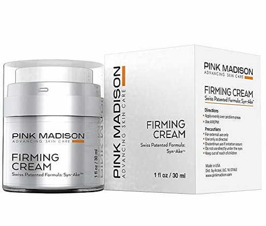 Pink Madison Skin Tightening Cream