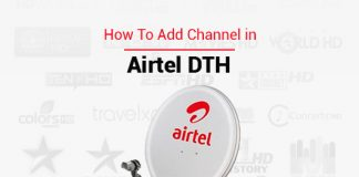 How to add channel in airtel dth