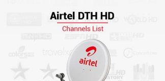 Airtel DTH HD Channels List - Best Airtel DTH HD Packs Channels