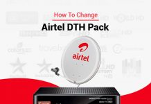 Change Your Airtel DTH Plan