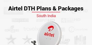 Best Airtel DTH Plans & Packages in South India