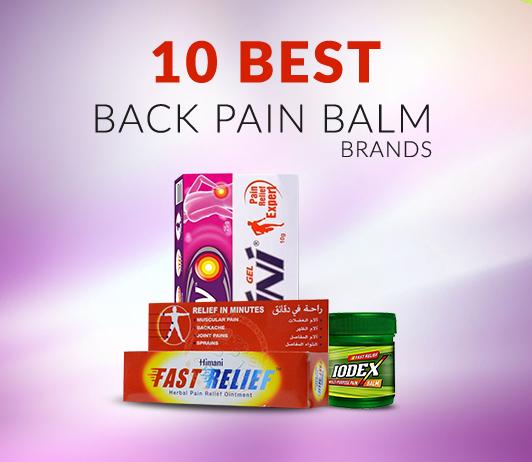 back pain spray brands