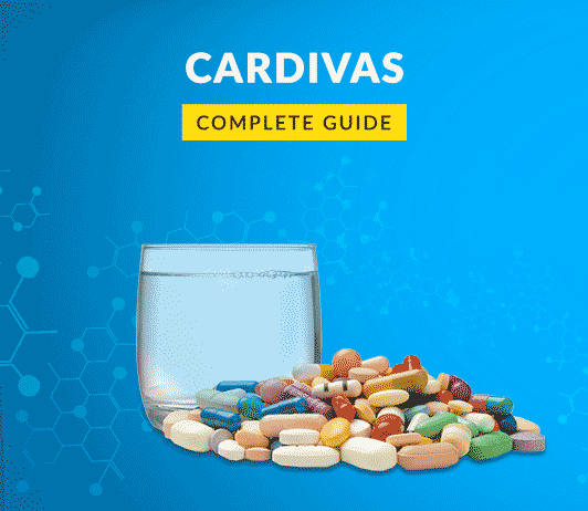 Cardivas: Uses, Dosage, Side Effects, Price, Composition, Precautions & More