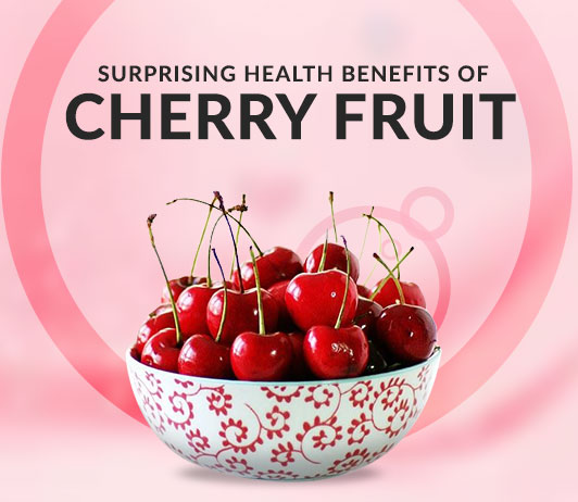 10 Surprising Health Benefits of Cherry Fruit - Nutrition & Uses Include