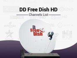 DD Free Dish HD Channels List - Best DD Free Dish HD Packs Channels