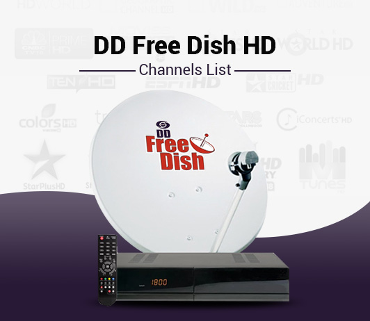 DD Free Dish HD Channels List - Best DD Free Dish HD Packs Channels