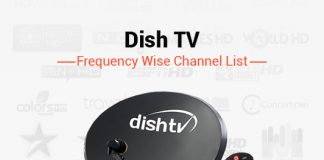 Dish TV Frequency 2019: List of Dish TV DTH Channel Signal Frequency