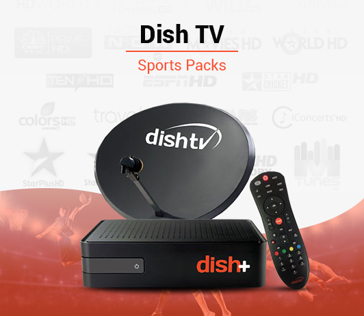 Dish TV Sports Packs - Best Dish TV Sports Plans & Packages in India