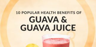 10 Popular Health Benefits of Guava & Guava Juice - Uses, Calories & More