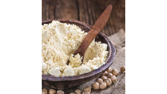 Gram Flour and Whole-Wheat Flour