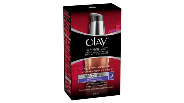 Olay Regenerist Advanced Anti-Aging Night Resurfacing Elixir