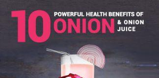 10 Powerful Health Benefits of Onion & Onion Juice