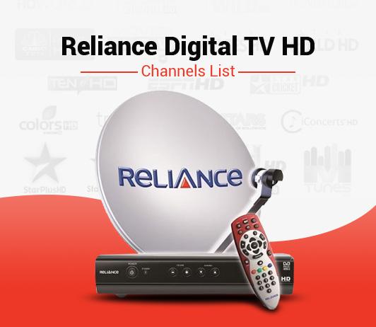 Reliance Digital TV HD Channels List - Best Reliance Big TV HD Packs Channels
