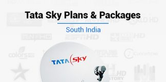 Tata Sky South Packs - Best Tata Sky Plans & Packages in South India