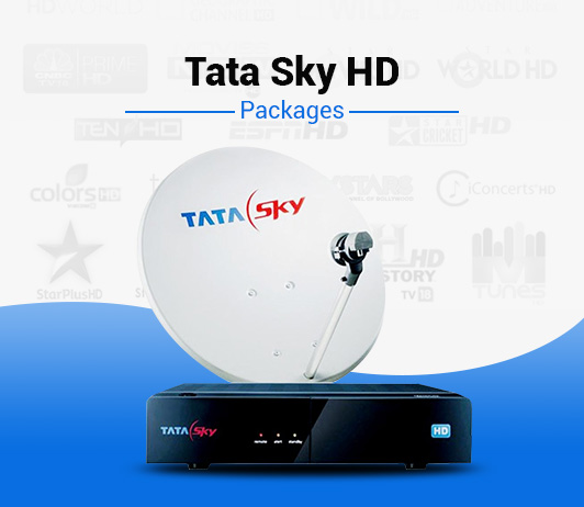 Tata Sky HD Monthly Plans & Annual Packs With Prices