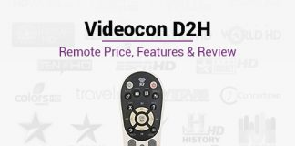 Videocon D2H Remote Control: Videocon D2H Remote Price, Features & Review