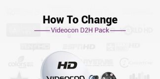 Videocon D2H Change Pack & Plan - How To Change Videocon D2H Pack