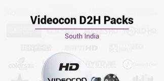 Videocon D2H Packages South - Best Videocon D2H South Plans & Packs