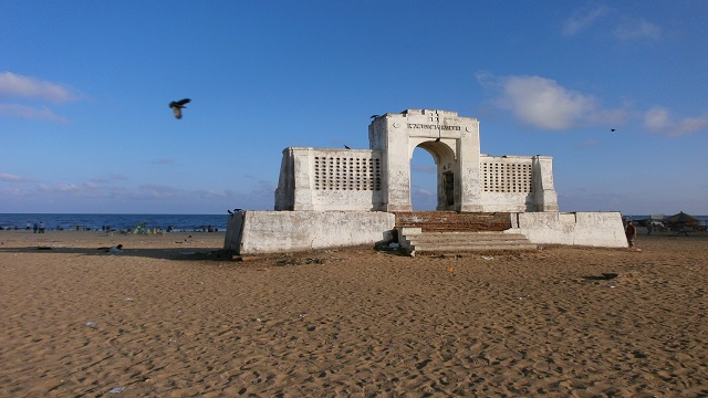 Santhome Beach