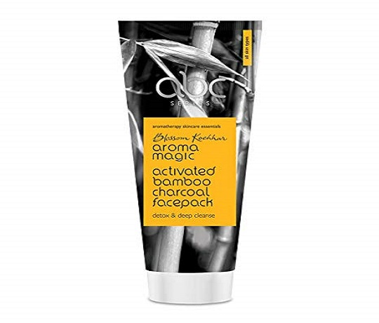 Aroma Magic Activated Bamboo Charcoal Face Mask