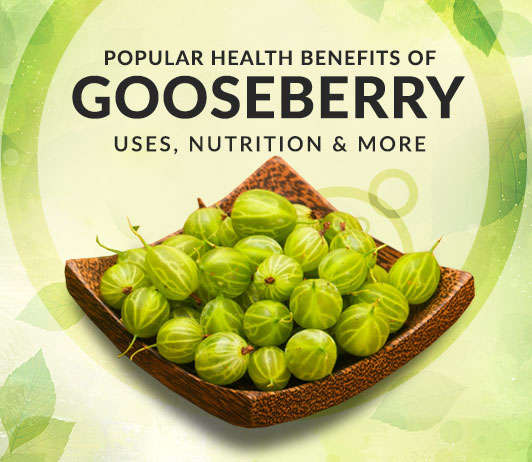 10 Popular Health Benefits of Gooseberry & Gooseberry Juice - Uses, Nutrition & More
