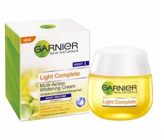 Garnier Light Complete Night Cream