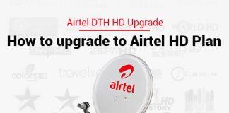 Airtel dth hd upgrade